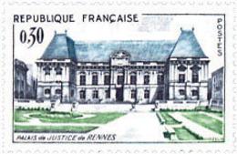 Ref. 121885 * NEW *  - FRANCE . 1962. BUILDINGS. PALACIOS - Francia