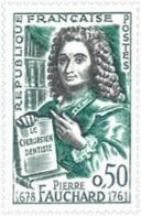 Ref. 121853 * NEW *  - FRANCE . 1961. BICENTENARY OF THE DEATH OF PIERRE FAUCHARD. BICENTENARIO DE LA MUERTE DE PIERRE F - Francia