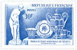 Ref. 121505 * NEW *  - FRANCE . 1957. BICENTENARY OF NATIONAL MANUFACTURE; AT SEVRES. BICENTENARIO DE LA MANUFACTURA NAC - Nuevos