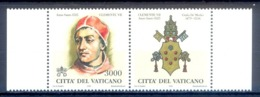 O70- Vatican 1998 Popes Of The Holy Years. - Unused Stamps