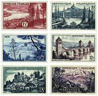 Ref. 59714 * NEW *  - FRANCE . 1955. LANDSCAPES. PAISAJES - Nuevos