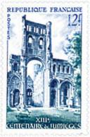 Ref. 342603 * HINGED *  - FRANCE . 1954. 13th CENTENARY OF JUMIEGES ABBEY. 13 CENTENARIO DE LA ABADIA DE JUMIEGES - Francia