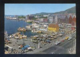 Bergen. *View Of The Harbour...* Circulada Bergen 1967. - Noruega