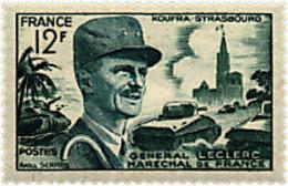 Ref. 41068 * NEW *  - FRANCE . 1954. MARSHAL LECLERC. MARISCAL LECLERC - Francia