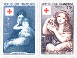 Ref. 65492 * NEW *  - FRANCE . 1954. RED CROSS WELFARE FUND. PRO CRUZ ROJA - Nuevos