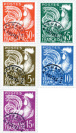 Ref. 342907 * NEW *  - FRANCE . 1953. SHE-SOWER AND COCK. SEMBRADORA Y GALLO - Francia