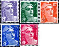Ref. 121254 * NEW *  - FRANCE . 1951. MARIANNE BY GANDON. MARIANNE DE GANDON - Francia