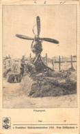 FLIEGERGRAB ~ AVIATION GRAVE ~  DEUTFCHER MOBCHENKALENDER 1918 DUS KRONZCHEN POSTCARD 42275 - War Cemeteries