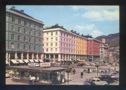 Bergen. *Main Street...* Circulada Bergen 1964. - Noruega