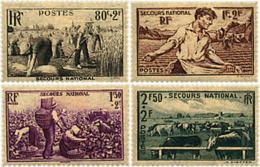 Ref. 88095 * NEW *  - FRANCE . 1940. NATIONAL WELFARE. PRO AYUDA NACIONAL - Nuevos