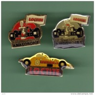 LOCTITE *** Lot De 3 Pin's Differents ***  2004 - Automobile - F1