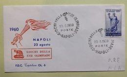 9089 - IItalia Giochi Della XVII Olimpiade Napoli 23.08.1960 - Sommer 1960: Rom