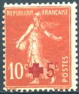 Ref. 152577 * NEW *  - FRANCE . 1914. RED CROSS. CRUZ ROJA - Nuevos