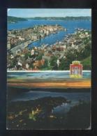 Bergen. Circulada Trondheim-Kirkenes A Calaf En 1977. - Noruega