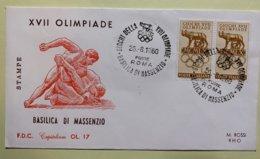9091 - IItalia Giochi Della XVII Olimpiade Basilica Di Massenzio 26.08.1960 - Sommer 1960: Rom