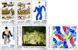 Ref. 124217 * NEW *  - FRANCE . 1994. CULTURAL RELATIONSHIP BETWEEN FRANCE AND SWEDEN. RELACIONES CULTURALES ENTRE FRANC - Nuevos