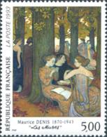 Ref. 124195 * NEW *  - FRANCE . 1993. 50th ANNIVERSARY OF THE DEATH OF MAURICE DENIS. 50 ANIVERSARIO DE LA MUERTE DE MAU - Nuevos