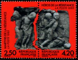 Ref. 142626 * NEW *  - FRANCE . 1993. MARTYRS AND HEROES OF RESISTANCE. MARTIRES Y HEROES DE LA RESISTENCIA - Nuevos