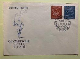 9094 -  DDR Olympische Spiele 1956 Melbourne Berlin 28.09.1956 - Estate 1956: Melbourne