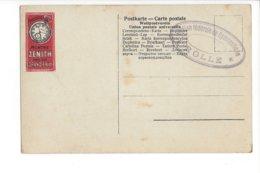 24006 - Horlogerie Montre ZENITH Paris 1900Grand Prix Sur Carte Jérusalem - Israel