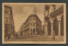 TORINO - VIA PIETRO MICCA  - VIAGGIATA CON AFFRANCATURA1923 - ANGOLI ROVINATI - 074 - Parcs & Jardins