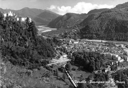 Cartolina Varallo Sesia Panorama Con Sacro Monte 1960 Timbro Sacro Monte - Vercelli