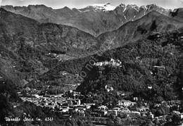 Cartolina Varallo Sesia Panorama Timbro Sacro Monte Grinze - Vercelli