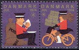 DENMARK #  CHRISTMAS STAMPS FROM 1974 ** - Danemark