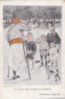 Le Salut Aux Glorieux Mutilés (illustrateur Emmanuel Fougerat). - Patriotic