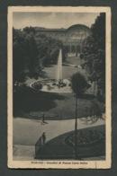TORINO - GIARDINI DI PIAZZA CARLO FELICE - VIAGGIATA CON AFFRANCATURA1931 - ANGOLI ROVINATI - 075 - Parcs & Jardins