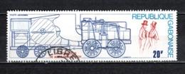 GABON  PA N° 162  OBLITERE  COTE 0.45€    TRAIN - Gabun (1960-...)
