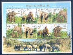 O77-  Vietnam Viet Nam Withdrawn Stamps 2003  Asian Elephant. - Elephants