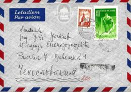 Hockey Sur Glace, Russie 1957 Lettre Recommande - Jockey (sobre Hielo)