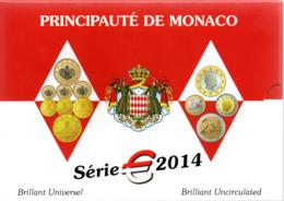 MONACO -- Série 2014 -- Brillant Universel Brilliant Uncirculated - Monaco