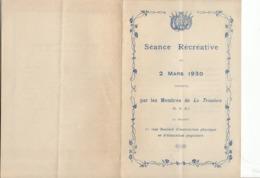 """""""La Tricolore Meudon"""" Séance Récréative Du 2 Mars 1930 - """"Monsieur Bonteint Est élu"""" De A. Chenal Et ... - Programmes"""