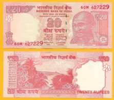 India 20 Rupees P-103 2018 (Letter L) UNC Banknote - India