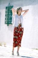 C 1990 SEXY FEMME GIRL MODEL FASHION MODELO MODA LISBOA PORTUGAL 35mm DIAPOSITIVE SLIDE NO PHOTO FOTO B4883 - Dias
