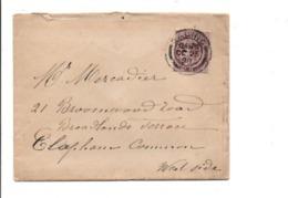 GB LETTRE INTERIEURE DE GALINC 25/10/1898 - Unclassified