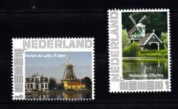 Nederland, Persoonlijke Zegels, Molem, Mill, Molen De Lelie Te Rotterdam +  Molen In De Efteling - 2013-... (Willem-Alexander)