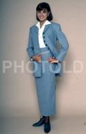 C 1990 SEXY FEMME GIRL MODEL FASHION MODELO MODA LISBOA PORTUGAL 35mm DIAPOSITIVE SLIDE NO PHOTO FOTO B4887 - Dias