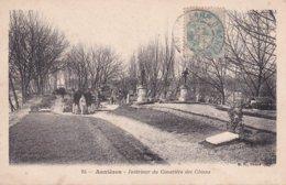 L100D_406 - Asnières - Intérieur Du Cimetière Des Chiens - Carte Précurseur - Asnieres Sur Seine