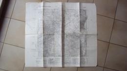 SLOVENIA CARTA GEOGRAFICA DI SESANA TRIESTE ISTITUTO GEOGRAFICO MILITARE EDIZIONE 1937 STRAPPO SULLA CARTA - Alte Papiere
