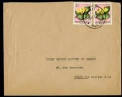 """CONGO BELGE """"KIRKWIT I D 20/12/57"""" Sur N° 288A. Sur Enveloppe Pour La France. - Belgian Congo"""