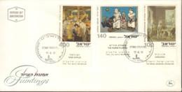 Ref. 385006 * NEW *  - ISRAEL . 1975. PAINTINGS. PINTURAS - Israel