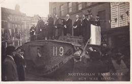 CPA - NOTTINGHAM - Tank Weer Buy War Bonds - Nottingham