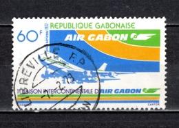 GABON  PA N° 193  OBLITERE  COTE 0.80€    AVION - Gabun (1960-...)