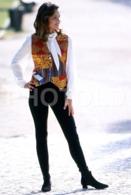 C 1990 SEXY FEMME GIRL MODEL FASHION MODELO MODA LISBOA PORTUGAL 35mm DIAPOSITIVE SLIDE NO PHOTO FOTO B4890 - Dias