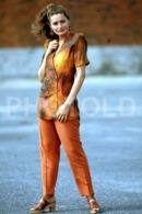 C 1990 SEXY FEMME GIRL MODEL FASHION MODELO MODA LISBOA PORTUGAL 35mm DIAPOSITIVE SLIDE NO PHOTO FOTO B4891 - Dias