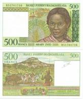 Madagascar 500 Francs 1994. UNC - Madagascar