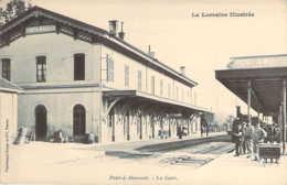 54 MEURTHE Et MOSELLE Le Train à Quai En Gare De PONT à MOUSSON Carte Précurseur - Pont A Mousson